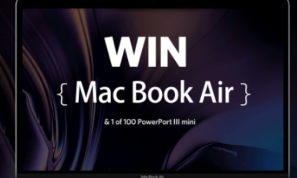 Win a Macbook Air, iPad & Galaxy S10