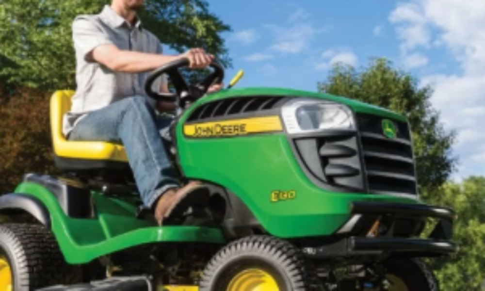 Win a John Deere E130 Riding Lawn Tractor from Bob Vila