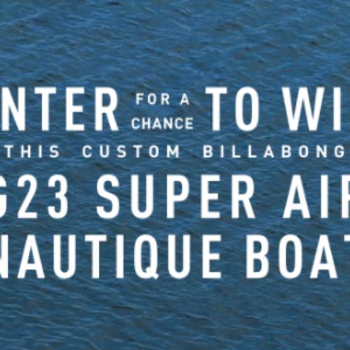 Win a $180K G23 Super Air Nautique Boat