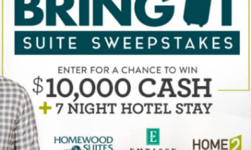 Win $10,000 + 7-Night Hotel Stay from HGTV