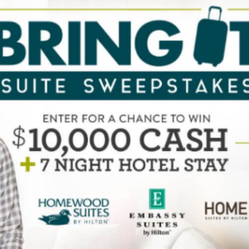 Win $10,000 + 7-Night Hotel Stay from HGTV