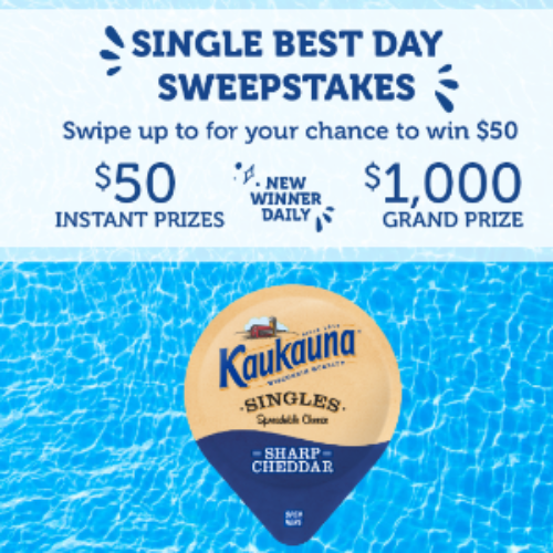 Win a $1,000 VISA Gift Card from Kaukauna