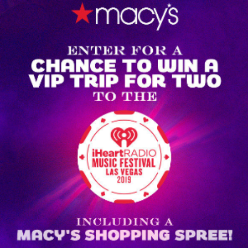 Win a Trip to Vegas & Macy's Gift Card from iHeartRadio