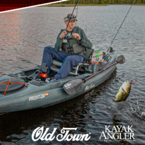Win an Old Town Predator Fishing Kayak