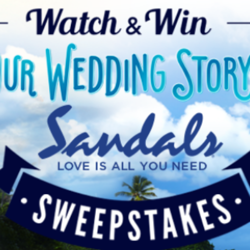 Win a 4-Day Caribbean Luxury Included Sandals Vacation