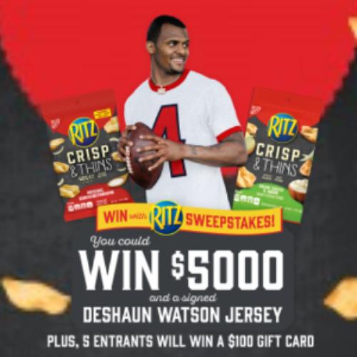Win $5K & Deshaun Watson Jersey