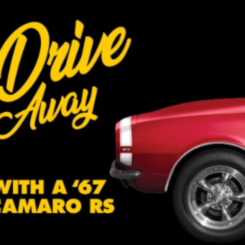 Win a 1967 Chevy Camaro from Advance Auto Parts