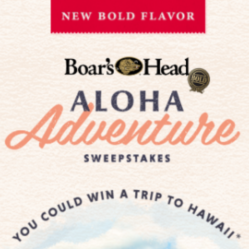 Win a Trip to Hawaii from Boar's Head