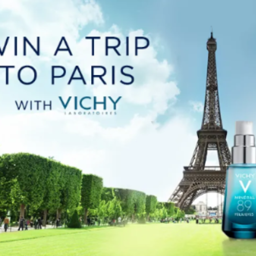 Win a Magical Trip to Paris with Vichy