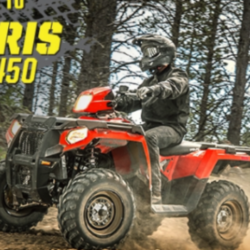 Win a Polaris Sportsman 450 from Rockstar