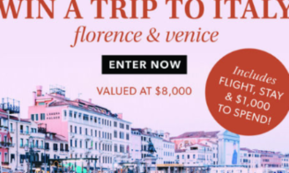 Win a Trip to Italy from Ross-Simons