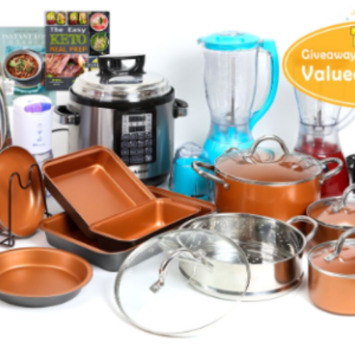 Win a Shineuri Cookware & Appliance Set