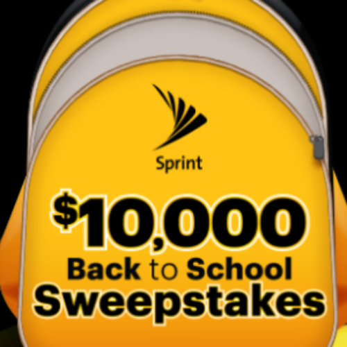 Win $10K + Galaxy S10 from Sprint