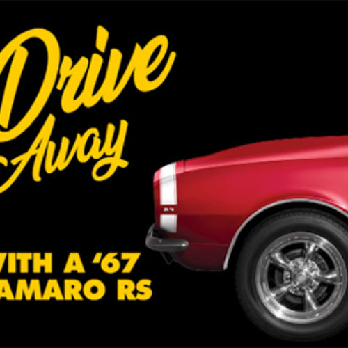 Win a '67 Chevy Camaro from Advance Auto Parts