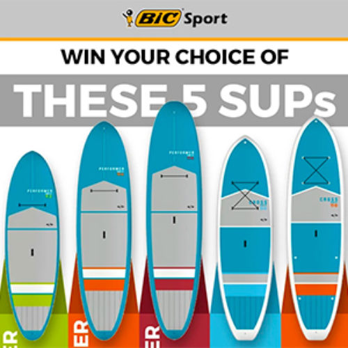 Win a Tough-Tec Stand Up Paddle Board
