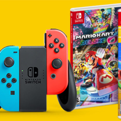 Win a Nintendo Switch Prize Pack from Cold Stone