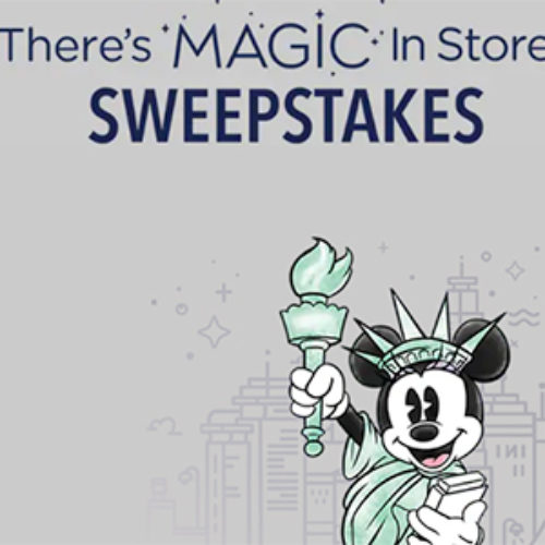 Win a Shopping Spree at Disney Store in NYC