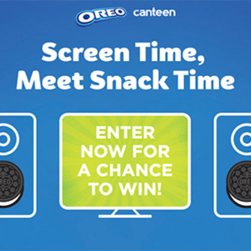 Win a Home Theater System from Oreo