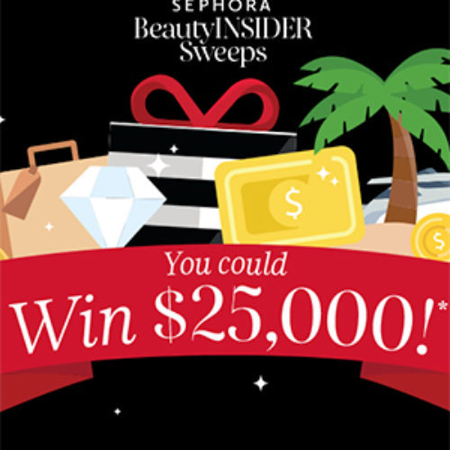 Win $25K from Sephora