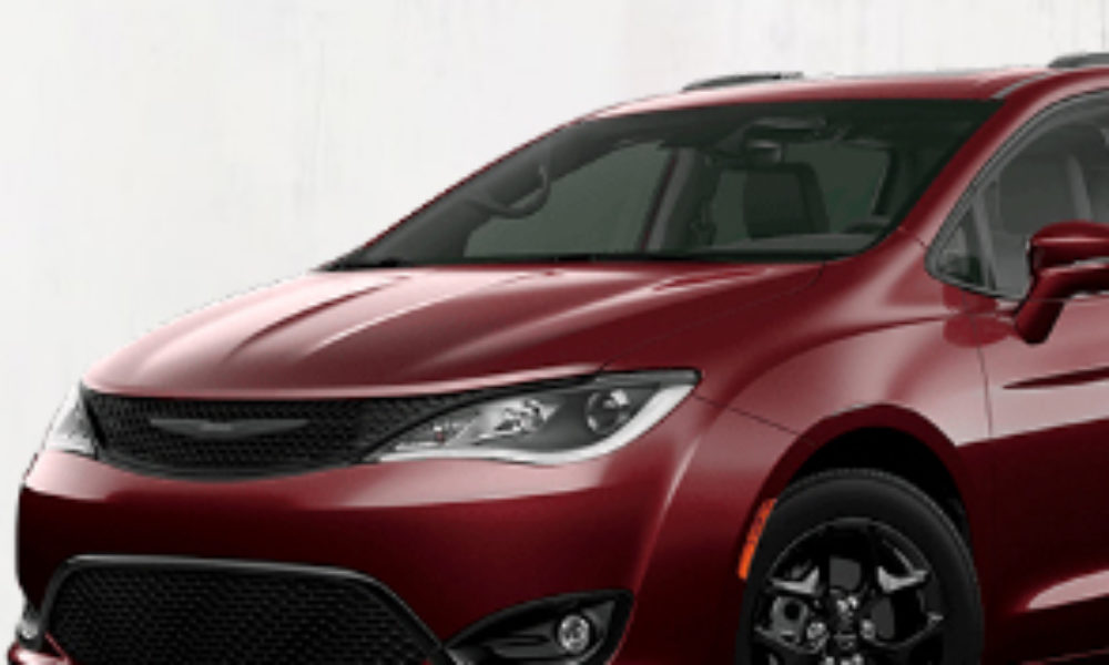 Win a Chrysler Pacifica from Hallmark Channel