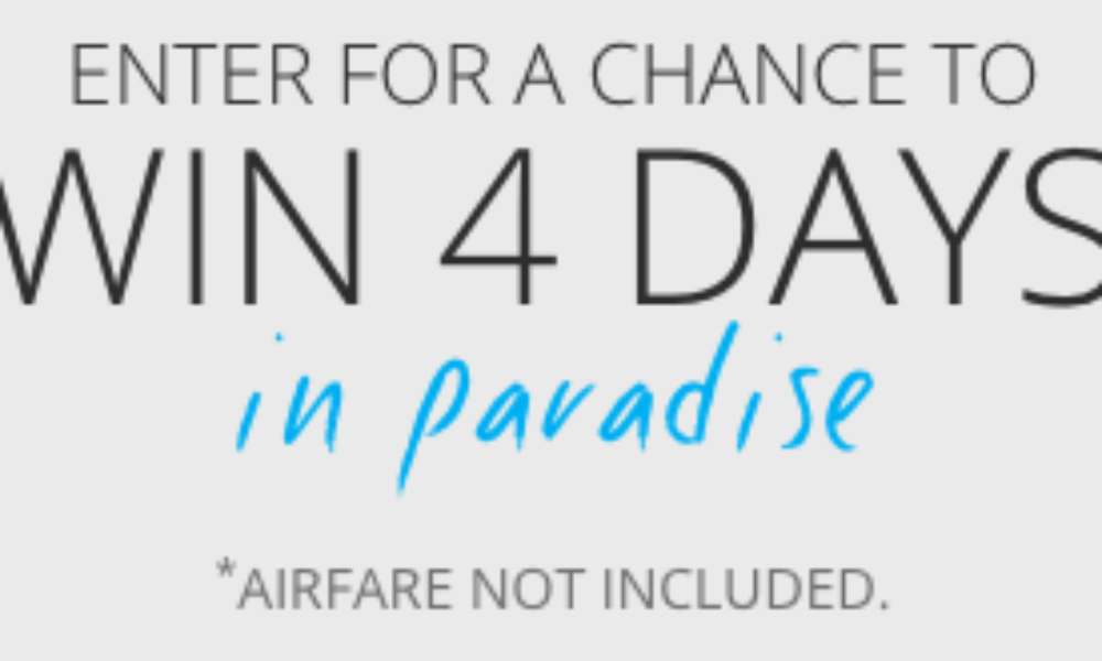 Win 4 Days in Paradise at Sandals Resort