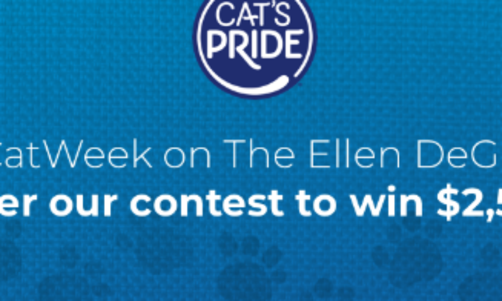 Win $2,500 from Cat's Pride
