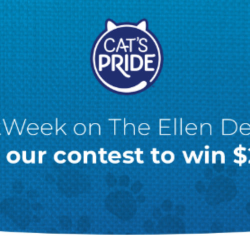 Win $2,500 from Cat's Pride