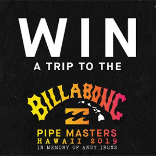 Win a Trip to Billabong Pipe Masters in Hawaii