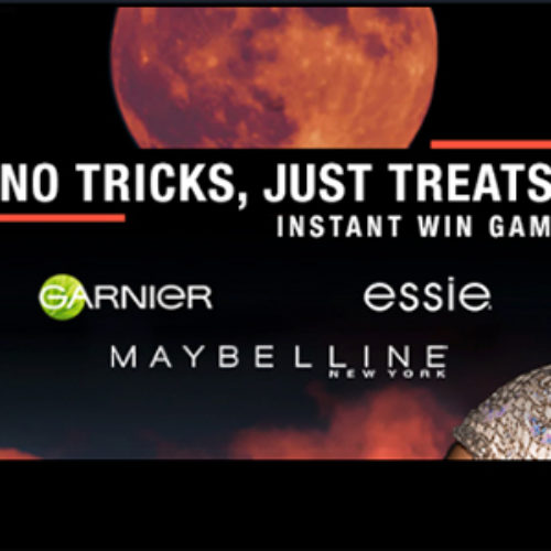 Instantly Win Garnier, Maybelline & Essie Products