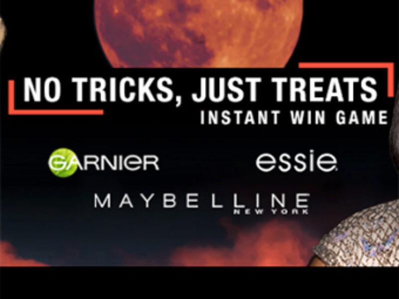 Instantly Win Garnier, Maybelline & Essie Products