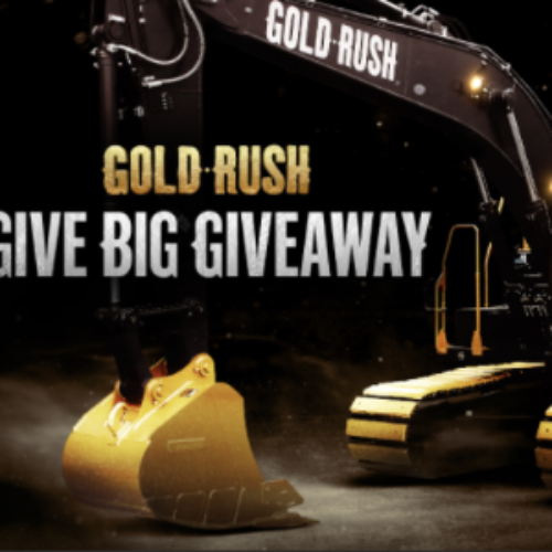 Win 1 of 21 Gold Rush Prize Packs