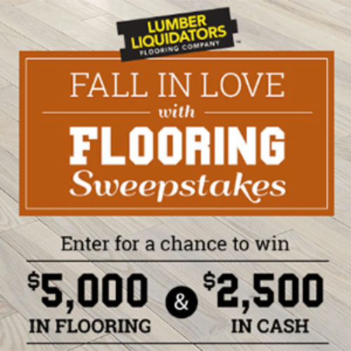 Win $5K in Flooring from Lumber Liquidators