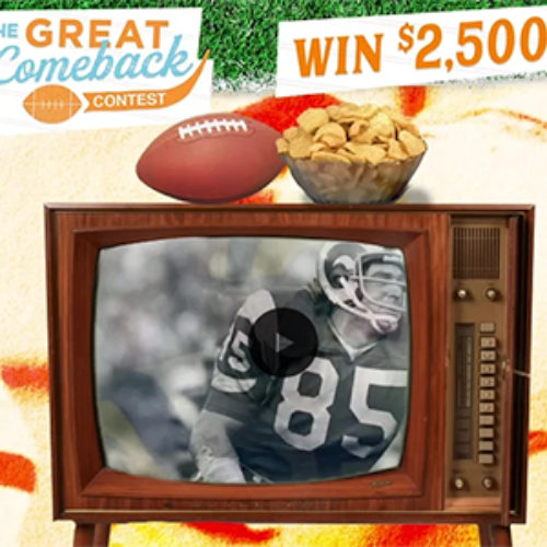 Win $2,500 + Year of Pork Rinds
