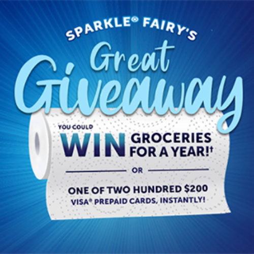 Win Groceries for a Year from Sparkle