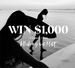 Win a $1K Billabong Shopping Spree