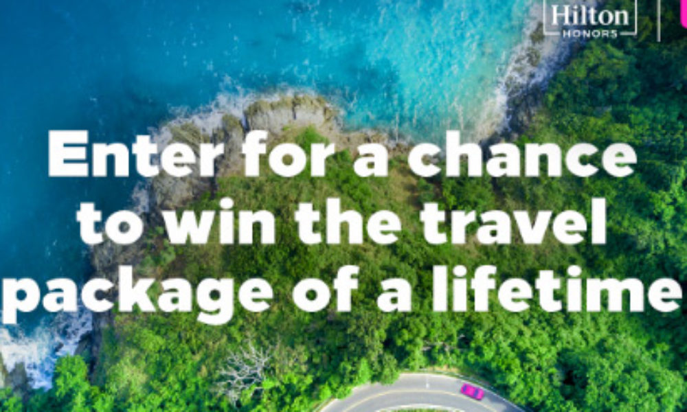 Win 1 Million Hilton Points + $5K Lyft Credit