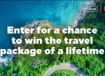 Win 1 Million Hilton Points + $5K Lyft Credit