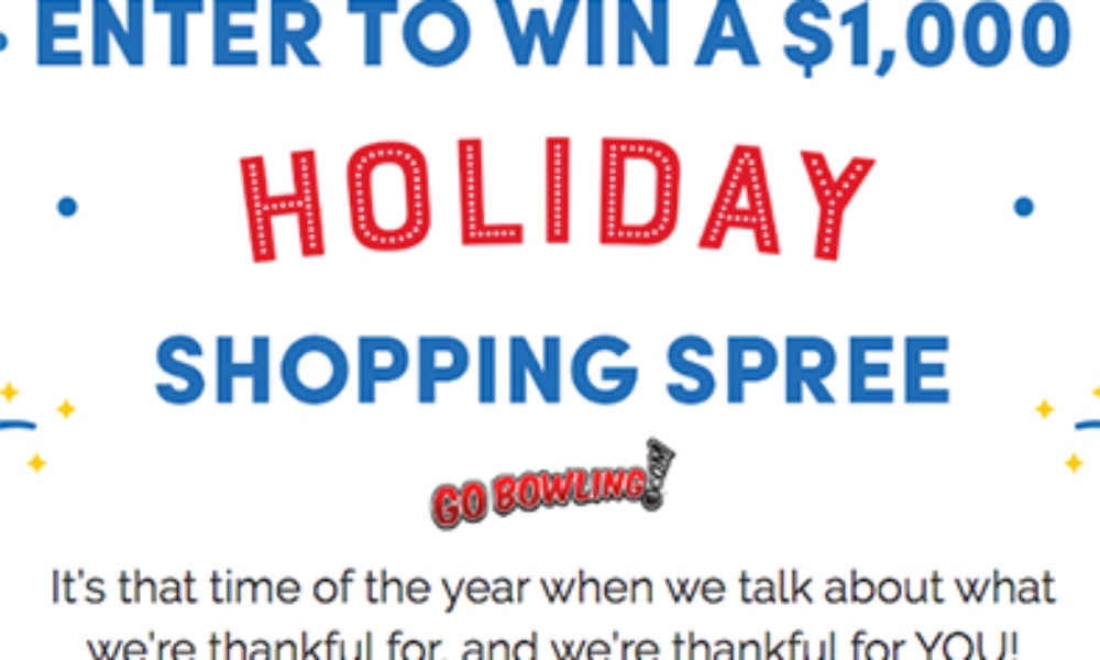 Win a $1K Macy's Gift Card from GoBowling