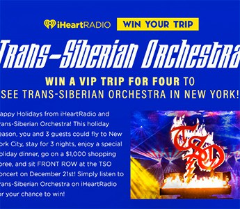 Win a VIP Trip to See Trans-Siberian Orchestra in NYC