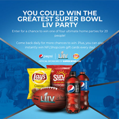 Win the Greatest Super Bowl LIV Party from Pepsi