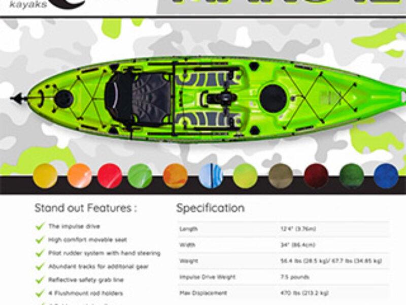 Win a Riot Mako 12 Kayak
