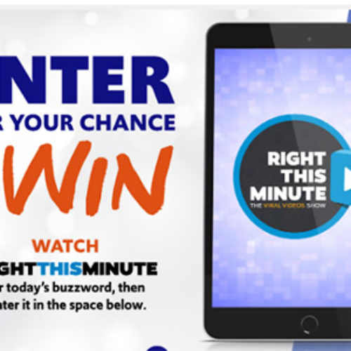 Win an iPad or HDTV from Right This Minute
