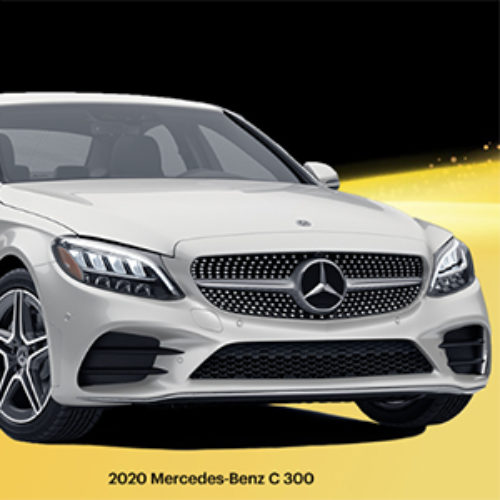 Win a 2020 Mercedes-Benz C300 from Sprint