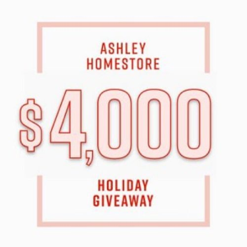 Win a $4K Ashley HomeStore Shopping Spree