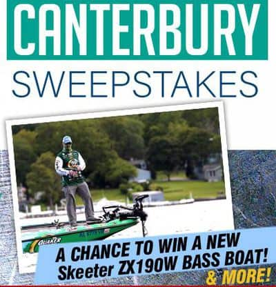 Win a Skeeter ZX130W Bass Boat from Bassmaster