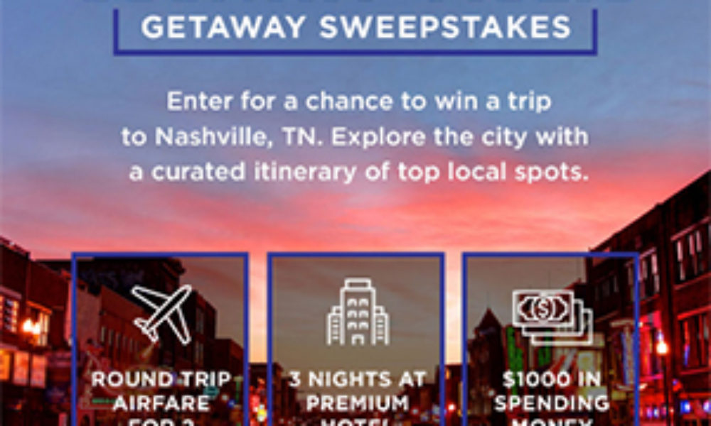 Win a Country Music Getaway to Nashville from A&E