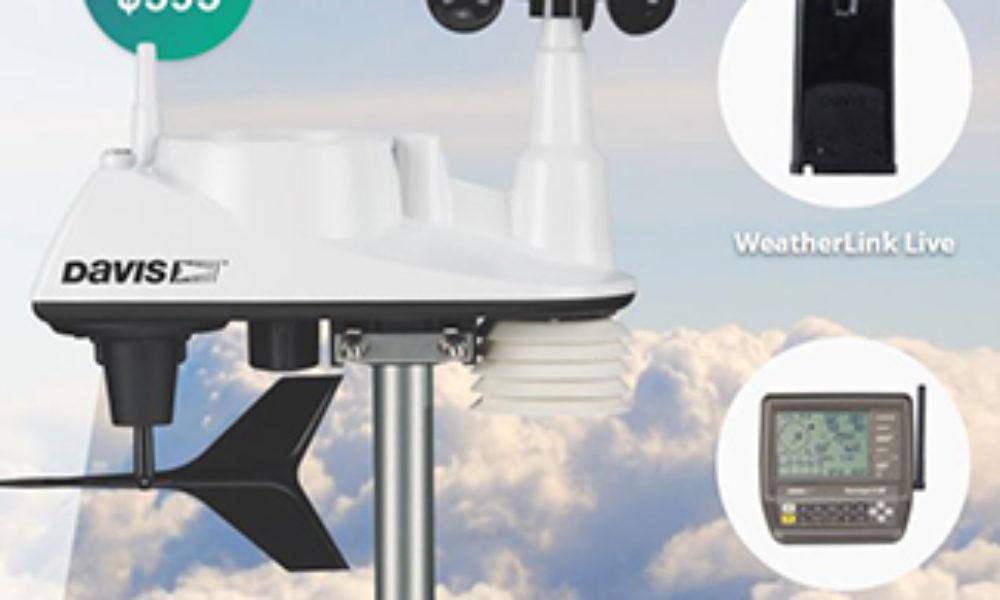 Win a Davis Vantage Vue Weather Station Bundle