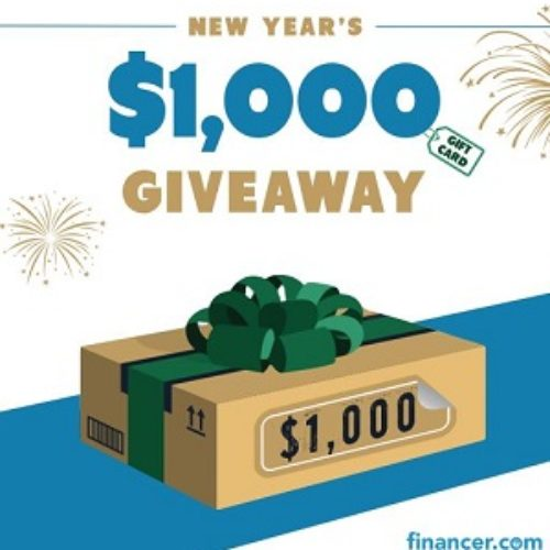 Win 1 of 5 $200 Amazon Gift Cards from Financer