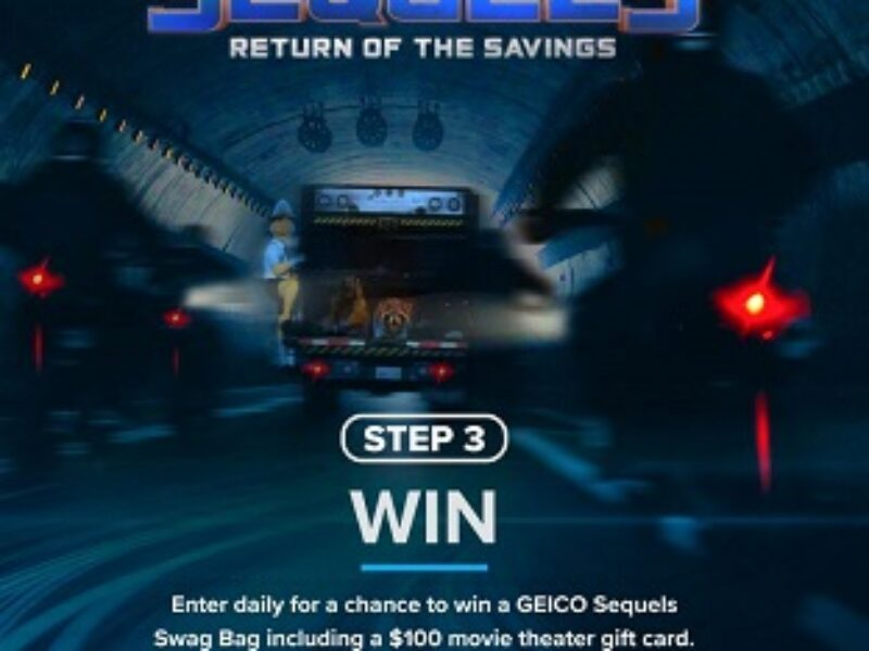 Win 1 of 57 $100 Gift Cards from GEICO