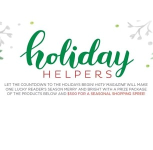 Win a Holiday Prize Package + $500 from HGTV